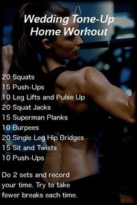 Do This Quick Home Workout To Get Some Amazingly Toned Arms and Abs. For More Visit http://theleanbodybride.com