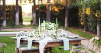 #ClippedOnIssuu from Utterly Engaged Volume 2 / Fall 2014. Bride and Groom Table