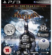 Square Enix Batman : Arkham Asylum - Game of the Year (PS3) No description (Barcode EAN = 5021290040533). http://www.comparestoreprices.co.uk//square-enix-batman-arkham-asylum--game-of-the-year-ps3-.asp