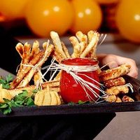 Learn how to make Breadstick Haystacks. MyRecipes has 70,000+ tested recipes and videos to help you be a better cook