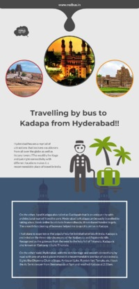 Travelling by bus to Kadapa from Hyderabad