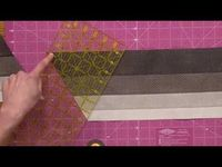 Quiltmaking with 60-Degree Triangles with Gigi Khalsa - YouTube