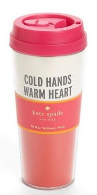 Cold hands, warm heart.