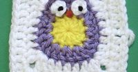 Iron Craft Challenge #16 - Owl Blanket for a Baby Bird by katbaro, via Flickr