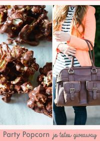 Sweet meets salty in this delicious and easy chocolate covered popcorn.