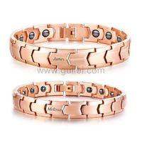 Health Magnets Matching Couple Bracelets Gift https://www.gullei.com/health-magnets-matching-couple-bracelets-gift.html