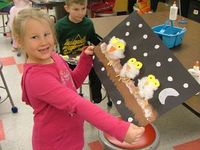 Owl Babies - a great texture lesson!
