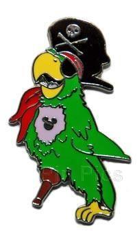 WDW - Hidden Mickey 2007 Series 2 - Pirate Parrot  PP - 59029 PT - 9642