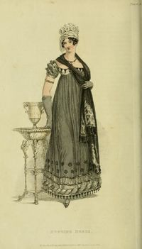 Evening Dress - Jan. 1818