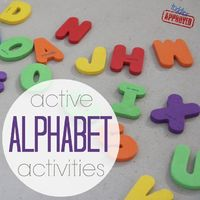 ( Active Alphabet Activities to help prepare your child for Kindergarten from