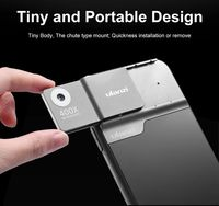 Ulanzi Rechargeable 400X Microscope Phone Lens Kit for iPhone 11 Pro Max with Battery LED Transmits Light 400X DH Optical Lens