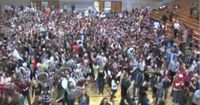 State College Area High School Lipdub all-school project. SO fun and awesome.