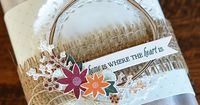Home Is Where The Heart Is Packaging by Amy Sheffer for Papertrey Ink (August 2015)