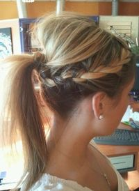 10 Braids, Ponytails Hairstyles for Long Hair | PoPular Haircuts