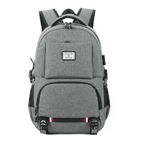 Outdoor Travel USB Backpack Rucksack Large Capacity Laptop School Bag Handbag Shoulder Bag Men Women