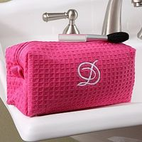waffle weave bag, great gift idea. (One of the brides I was a maid for, gave this to us, I use it almost every day!)