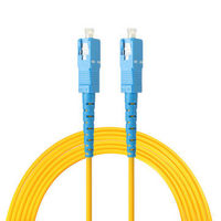 3M SC to SC Single Mode Fiber Optic Patch Cable Simplex Core Patch 9/125 Optical Networking Cable