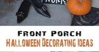 Front Porch Halloween Decorating Ideas �€� DIY projects, Tutorials and Ideas!