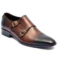 Johny Weber Handmade Patina Monk strap Shoes