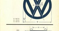 I love looking at logo specs like this one for the VW logo, which is one of my favorite marks. It gives you some insight into how the logo was created. Graham S