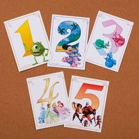 Disney Numbers free printable from