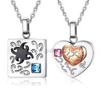 Gullei.com Engraved Matching Couples Jewelry for Him and Her