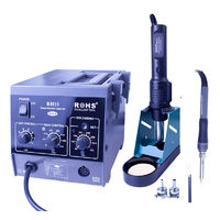 ROHS RH10 2 in 1 SMD Soldering Station Hot Air Rework Station Repair Welding Soldering Iron Set PCB Desoldering Tool