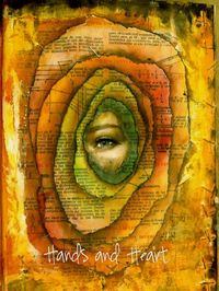 Mónica Zúñiga - visit this site if you are interested in collage or altered art and books. She has some gorgeous personal work. Also lots of other types of art. LOVE it!