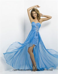 Short Front Long Back Prom Dresses By Blush 9315
