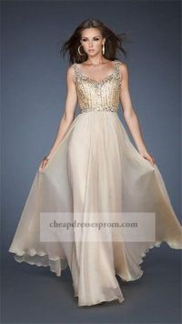 Skintight Long Nude Beaded Evening Dress 2014