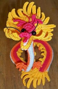 Crocheted Chinese Dragon