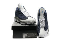 Nike Air Jordan 13 Big Size White and Blue Grey - Size 14/15/16