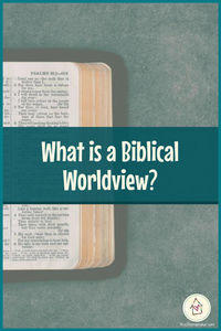 What is a biblical worldview? Do you and your children have one?
