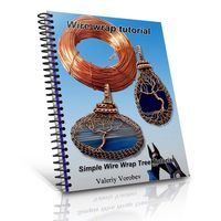 Wire Wrap Tutorial. Handmade Pendant Tree of Life wire. Tutorial PDF. Wire Wrap Pendant $6.00