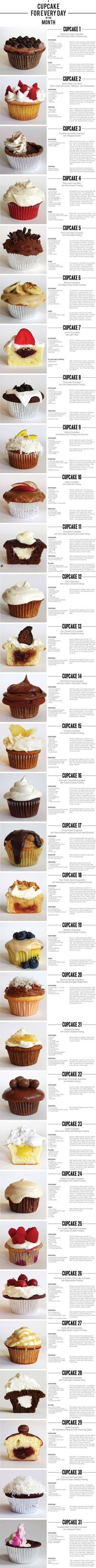 """Check out BRIMI LEW's """"A Cupcake for Every Day of the Month"""" Decalz"""
