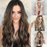 Naturally Gorgeous Lady Natural Mix Colors Full Lace Wig $37.31