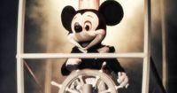 Steamboat Willie: Actually this is NOT the 1928 version of Disney's first movie - kinda goes with that was then; this is now. lol