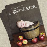 newborn birth announcements, shower invitations and birth announcements.