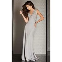 Clarisse - M6248 Crystal Lace Sheath Dress - Designer Party Dress & Formal Gown