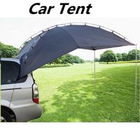 Portable Tent Car roof outdoor equipment camping car tent canopy car tail ledger car awning $205.99