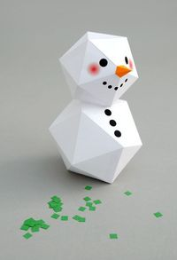 Hello. Hope all your Christmas preparations are going well�€�I can't believe how quickly November is racing by! I've been making some paper snowmen. They are perf