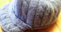 Upcycle an old sweater into a hat and mittens.