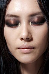 Smoky eye in bronze tones because black is so expected...