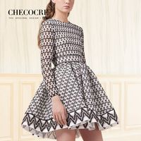Attractive Slimming High Waisted It Girl Spring Frilled Formal Wear Dress - Bonny YZOZO Boutique Store