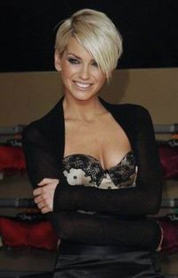 Sarah Harding latest Short Hairstyle �™�