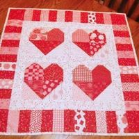 Quilts express love like few things can; and quilting itself is an act of love. And so we share these wonderful Valentine Quilt Patterns with you.
