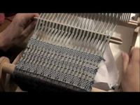How to do a Leno Lace Pattern on a Rigid Heddle Loom with PattyAnne