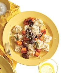 Get the recipe for Tortellini With Butternut Squash, Mushrooms, and Fontina.