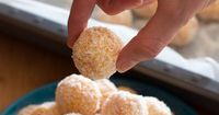 Apricot and Coconut Balls | Snacks | Recipes | Grab Your Spork
