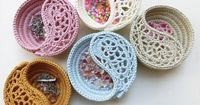CROCHET PATTERN 4 Yin Yang Dish Freeform Crochet by goolgool $5.50